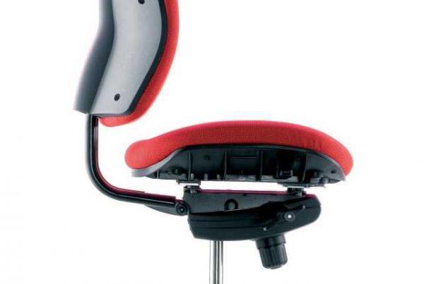 Xana perfil 701320 roja base aluminio pulido con logo